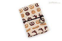 Miyamoto Collection Retro Komon Card Pocket Case - Fresh Bread - MIYAMOTO 07358