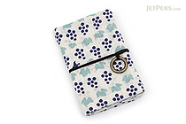 Miyamoto Collection Retro Komon Card Pocket Case - Grapes - MIYAMOTO 07444