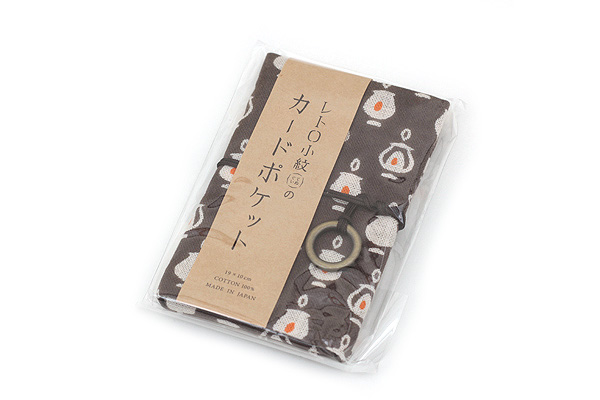 Miyamoto Collection Retro Komon Card Pocket Case - Lamps - MIYAMOTO 07344