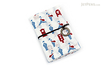 Miyamoto Collection Retro Komon Card Pocket Case - Mailman - MIYAMOTO 07351