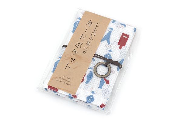 Miyamoto Collection Retro Komon Card Pocket Case - Mailman - MIYAMOTO 07351