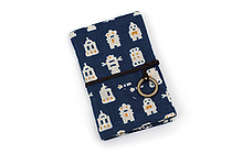 Miyamoto Collection Retro Komon Card Pocket Case - Robots - MIYAMOTO 07354