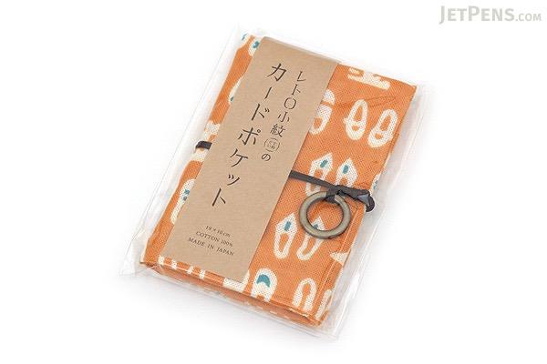Miyamoto Collection Retro Komon Card Pocket Case - Shoes - MIYAMOTO 07355