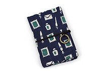 Miyamoto Collection Retro Komon Card Pocket Case - Stationery - MIYAMOTO 07345