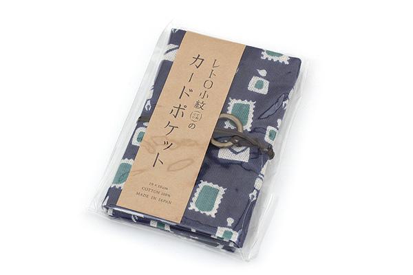 Miyamoto Collection Retro Komon Card Pocket Case - Stationery - MIYAMOTO 07345