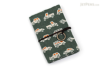 Miyamoto Collection Retro Komon Card Pocket Case - Vehicles - MIYAMOTO 07347