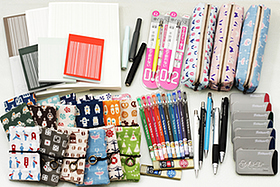 New Products: Fountain Pens, Memo Pads, Pocket Cases, Gel Pens, Ink Cartridges, Mechanical Pencils, and More!