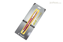 Pilot G2 Limited Metallic Body Gel Pen - 0.7 mm - Red Body - PILOT BG2E7BLK-NRED