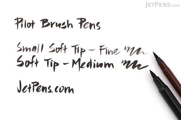Pilot Brush Pen - Small Soft Tip - Fine - PILOT P-SN-30KS-B