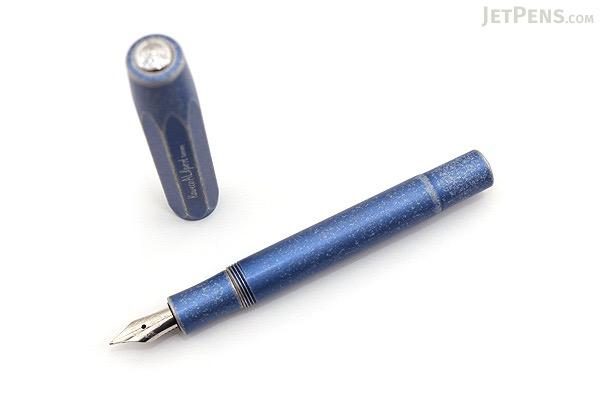 Kaweco AL Sport Stonewashed Fountain Pen - Blue - Extra Fine Nib - KAWECO 10000736