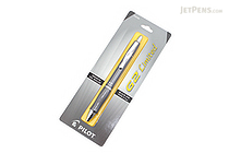 Pilot G2 Limited Metallic Body Gel Pen - 0.7 mm - Gray Body - PILOT BG2E7BLK-NGRY