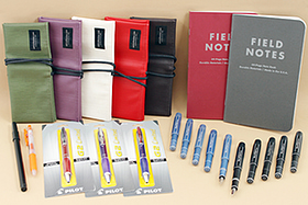 New Products: Field Notes, Fountain Pens, Gel Pens, Brush Pens, Pen Cases, and More!