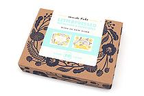 Chronicle Books Letterpressed Notecards & Envelopes - Masako Kubo - Pack of 10 - CHRONICLE BOOKS 9781452127569