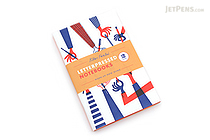 Letterpressed Notebooks - Klas Fahlen - Pack of 2 - CHRONICLE BOOKS 9781452127576