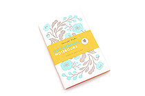 Letterpressed Notebooks - Masako Kubo - Pack of 2 - CHRONICLE BOOKS 9781452127590