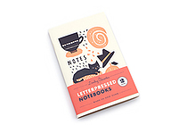 Letterpressed Notebooks - Darling Clementine - Pack of 2 - CHRONICLE BOOKS 9781452135120