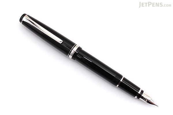 Pilot Elabo Fountain Pen - Black - Soft Fine Nib - PILOT FE-18SR-B-SF
