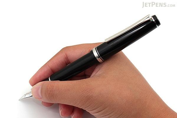 Pilot Elabo Fountain Pen - Black - Soft Extra Fine Nib - PILOT FE-18SR-B-SEF