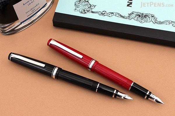 Pilot Elabo Fountain Pen - Red - Soft Broad Nib - PILOT FE-18SR-R-SB