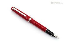 Pilot Elabo Fountain Pen - Red - Soft Medium Nib - PILOT FE-18SR-R-SM