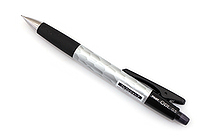 Pilot Opt Shaker Mechanical Pencil - 0.5 mm - Hammer Tone (Silver) Body - PILOT HOP-20R-HT