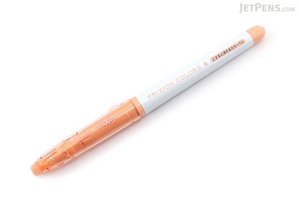Pilot FriXion Colors Erasable Marker - Pale Orange - PILOT SFC-10M-PO