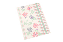 Kurochiku Japanese Pattern Clear Folder - A4 - Kikka (Chrysanthemum) - KUROCHIKU 71404607