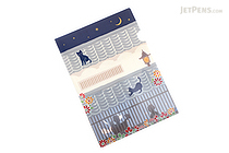 Kurochiku Japanese Pattern Clear Folder - A4 - Choka (House) - KUROCHIKU 71404608