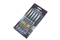 Uni-ball Vision Elite BLX Rollerball Pen - 0.5 mm - 5 Color Set - UNI-BALL 1832410