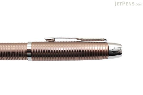 Parker IM Premium Fountain Pen - Brown Shadow - Medium Nib - PARKER 1906778