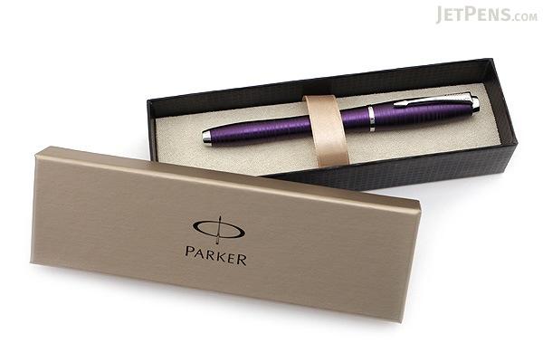 Parker Urban Premium Fountain Pen - Amethyst Pearl - Medium Nib - PARKER 1906861