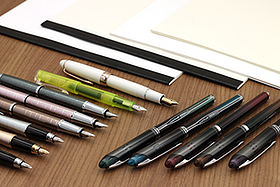 New Products: Tomoe River Paper Notebooks and Report Pads, Sophisticated Fountain Pens, and More!