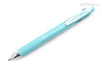 Zebra Sarasa Multi 4 Color 0.5 mm Gel Ink Multi Pen + 0.5 mm Pencil - Blue Green - ZEBRA J4SA11-BG