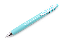 Zebra Sarasa Multi 4 Color 0.5 mm Gel Ink Multi Pen + 0.5 mm Pencil - Blue Green - ZEBRA J4SA11-BG