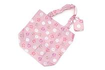 Kurochiku Japanese Pattern Eco-Bag - Small - Usagi Hanamarumon (Rabbit and Flower Circle) - KUROCHIKU 21404703