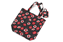 Kurochiku Japanese Pattern Eco-Bag - Small - Gubijinso (Field Poppy) - KUROCHIKU 21404705