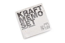 Bonomemo Kraft Sticky Memo Set - BONOMEMO KRAFT SET