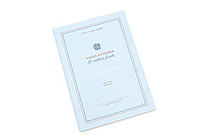 Kyokuto French Classic Notebook - B5 - Ruled - Blue - KYOKUTO X23B