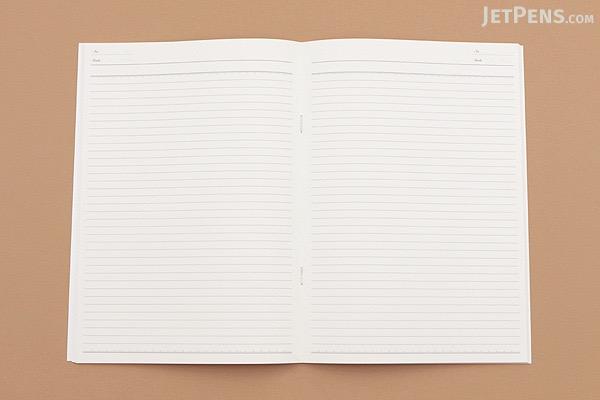 Kyokuto French Classic Notebook - B5 - Ruled - Blue - KYOKUTO X23B