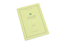 Kyokuto French Classic Notebook - B5 - Ruled - Green - KYOKUTO X23G