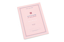 Kyokuto French Classic Notebook - B5 - Ruled - Pink - KYOKUTO X23P