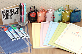 New Products: Kyokuto Notebooks, Sarasa Multi Pens, Kraft Paper Sticky Memos, Kurochiku Bags, and More!