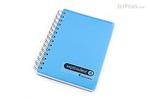 Maruman Sept Couleur Notebook - B7 - 6.5 mm Rule - Blue - MARUMAN N576-02