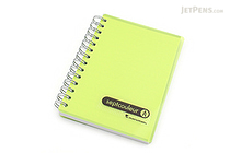 Maruman Sept Couleur Notebook - B7 - 6.5 mm Rule - Green - MARUMAN N576-03