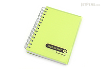 Maruman Sept Couleur Notebook - B7 - 6.5 mm Rule - Green - MARUMAN N576-03