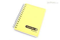 Maruman Sept Couleur Notebook - B7 - 6.5 mm Rule - Yellow - MARUMAN N576-04