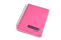 Maruman Sept Couleur Notebook - B7 - 6.5 mm Rule - Pink - MARUMAN N576-08
