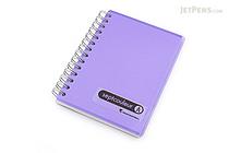 Maruman Sept Couleur Notebook - B7 - 6.5 mm Rule - Purple - MARUMAN N576-10