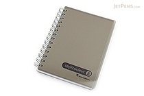 Maruman Sept Couleur Notebook - B7 - 6.5 mm Rule - Gray - MARUMAN N576-11