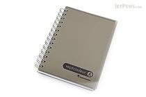 Maruman Sept Couleur Notebook - B7 - 6.5 mm Rule - Gray - MARUMAN N576-11